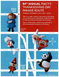 macy s thanksgiving day parade 2010 route how to live