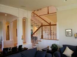 Traditional Wainscoting Traditional Stair With Painted Wainscoting Living Room