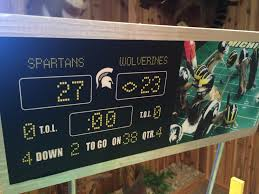 chipmunks portray michigan state u0027s miracle football win wpde