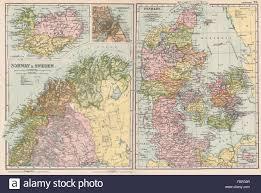 Scandinavia Map Scandinavia Lapland Iceland Denmark Copenhagen Norway U0026 Sweden