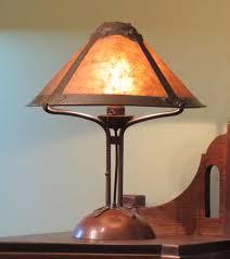 rare early dirk van erp lamp craftsman style lighting