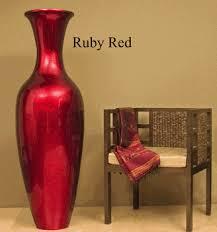 Large Brown Floor Vase 60