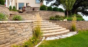 concrete retaining wall block landscape supplies hedberg