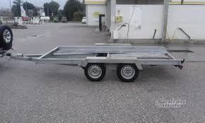 vendo carrello porta auto carrello porta auto caravan e cer usati in vendita pordenone
