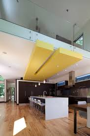 modern ceiling soffit loft living designed by lucid