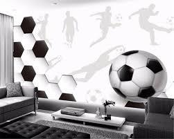 3d mural wallpaper soccer promotion shop for promotional 3d mural