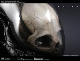 alien halloween prop alien h r giger u0027s alien 1 1 scale life size head prop replica