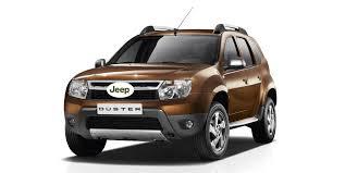 renault jeep компания jeep создаст конкурента для renault duster