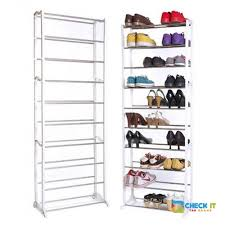 30 pair shoe cabinet janjee amazing 30 pair shoe racks checkitthebrand com