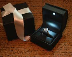 engagement ring boxes that light up engagement ring box with light engagement rings ideas