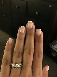 thin line french manicure i love how classy and simple it looks