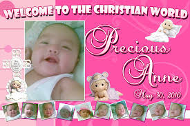 layout for tarpaulin baptismal tarpaulin background for baby girl