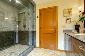 how to clean glass shower doors removing hard water stains