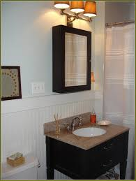 Mirror Old Fashioned Medicine Cabinet Burlington Bathroom Suite Bathroom Lowes Medicine Cabinets With Mirror On White Wall With Lamp