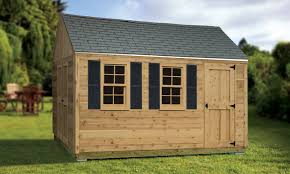 Sheds 10 U0027x12 U0027 Cedar Siding Summit Shed
