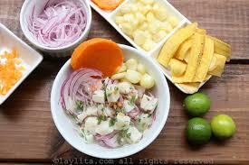 cuisiner poisson ceviche péruvien de poisson recettes de laylita