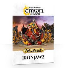 how to paint citadel miniatures ironjawz games workshop webstore
