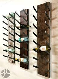 wine rack wall mounted wine rack wood wood wine bottle holder