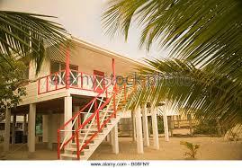 Beach House On Stilts Beach Stilt House On Tropical Stock Photos U0026 Beach Stilt House On
