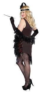 Dreamgirls Halloween Costumes Dreamgirl Size Dames Flapper Costume
