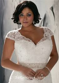 plus size wedding dresses with sleeves or jackets a line cap sleeve v neck organza lace beaded plus size wedding