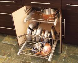 Pots And Pans Cabinet Rack Kitchen Cabinets For Pots And Pans Lakecountrykeys Com