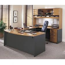 C Shaped Desk Bush Executive Desk Series C Corsa U Shaped Cherry Ships