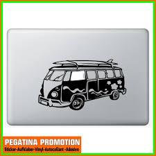 surferbus bus bulli camper van surf hawaii decal sticker for