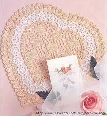 heart doily heart doily free crochet pattern crochet kingdom