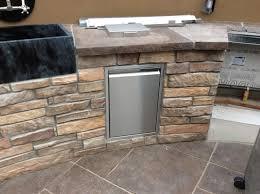 Outdoor Kitchen With Sink Custom Outdoor Kitchen Custom Sink U2013 Hi Tech Appliance