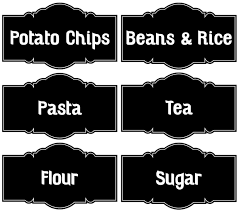 labels for kitchen canisters chalkboard kitchen canisters and labels not a creature was