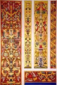 ornaments on italian renaissance grammar and