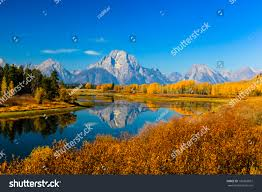 grand teton national park amazing mountains grand teton national park stock photo 196365872
