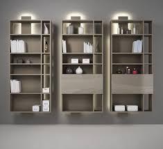 librerie muro libreria modulare a muro moderna per ufficio contatto by