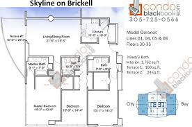 100 infinity at brickell floor plans canyon ranch north