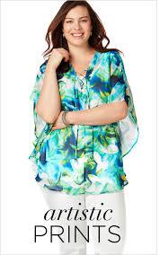 4x Plus Size Clothing Plus Size Shirts U0026 Blouses In Size 14 U0026 Up Catherines