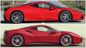 ferrari 488 modified ferrari 488 gtb vs 458 speciale comparison youtube