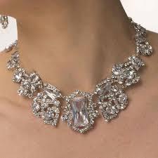 necklace swarovski crystals images 58 swarovski crystal necklace swarovski crystal rose bridal jpg