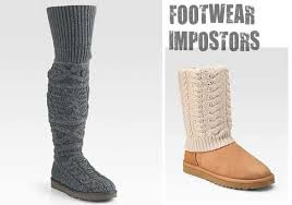 ugg s boots impostor alert ugg boots with attached socks s fashion
