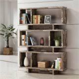 amazon com silver bookcases home office furniture home u0026 kitchen