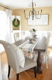 country dining room table white fibreglass dining chairs dark