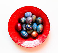 Easter Egg Decorating Pens by Easy Easter Egg Decoration Using Metallic Markers Bunny Peculiar