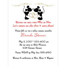 s shower invitations disney bridal shower invitations bridal shower invitations