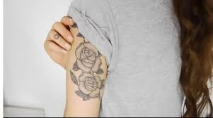 roses back tattoo meaning design idea for men and women