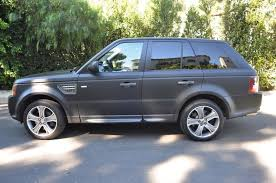 range rover back 2011 land rover range rover sport super charged matt back wrap