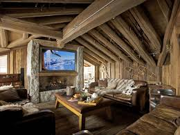 rustic home decorating ideas living room a warm and cozy post and beam living room interesting