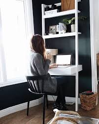 crate and barrel ladder desk pin by laura panek ferrino on for the home pinterest cozy office