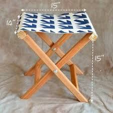 how to make your own folding camp stool camps stools and how