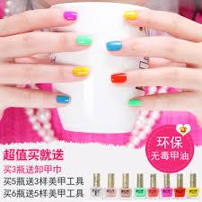 kot non toxic environmentally friendly nail polish nail red candy