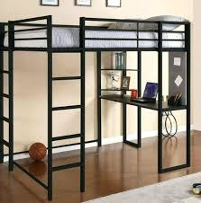 loft bed with desk loft bed desk best black metal with inspirations twin storage tower